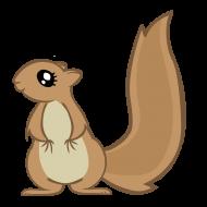 symbol grupy III - wiewiórka